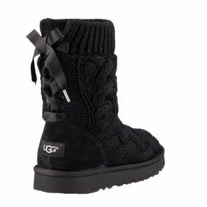 NEW! Ugg Isla Boots Black Women's 11